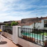 Casa rural, terraza y piscina