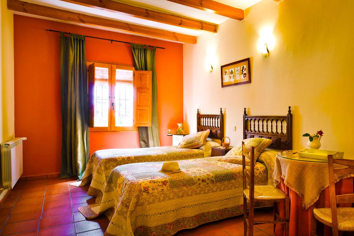 Habitación con baño en Casa Rural en Toledo